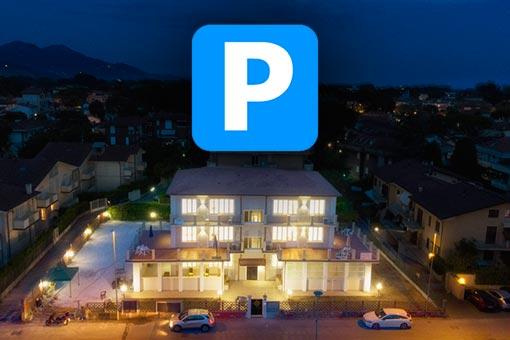 Parcheggio Privato, Appartamenti Deamarina Marina di Massa
