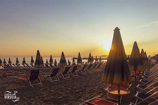 La Spiaggia a Marina di Massa © Vacanze in Versilia.COM